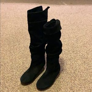 Shoes - Black suede boots -7